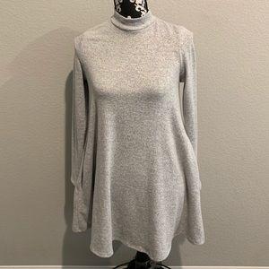 Agnes & Dora gray sweater dress